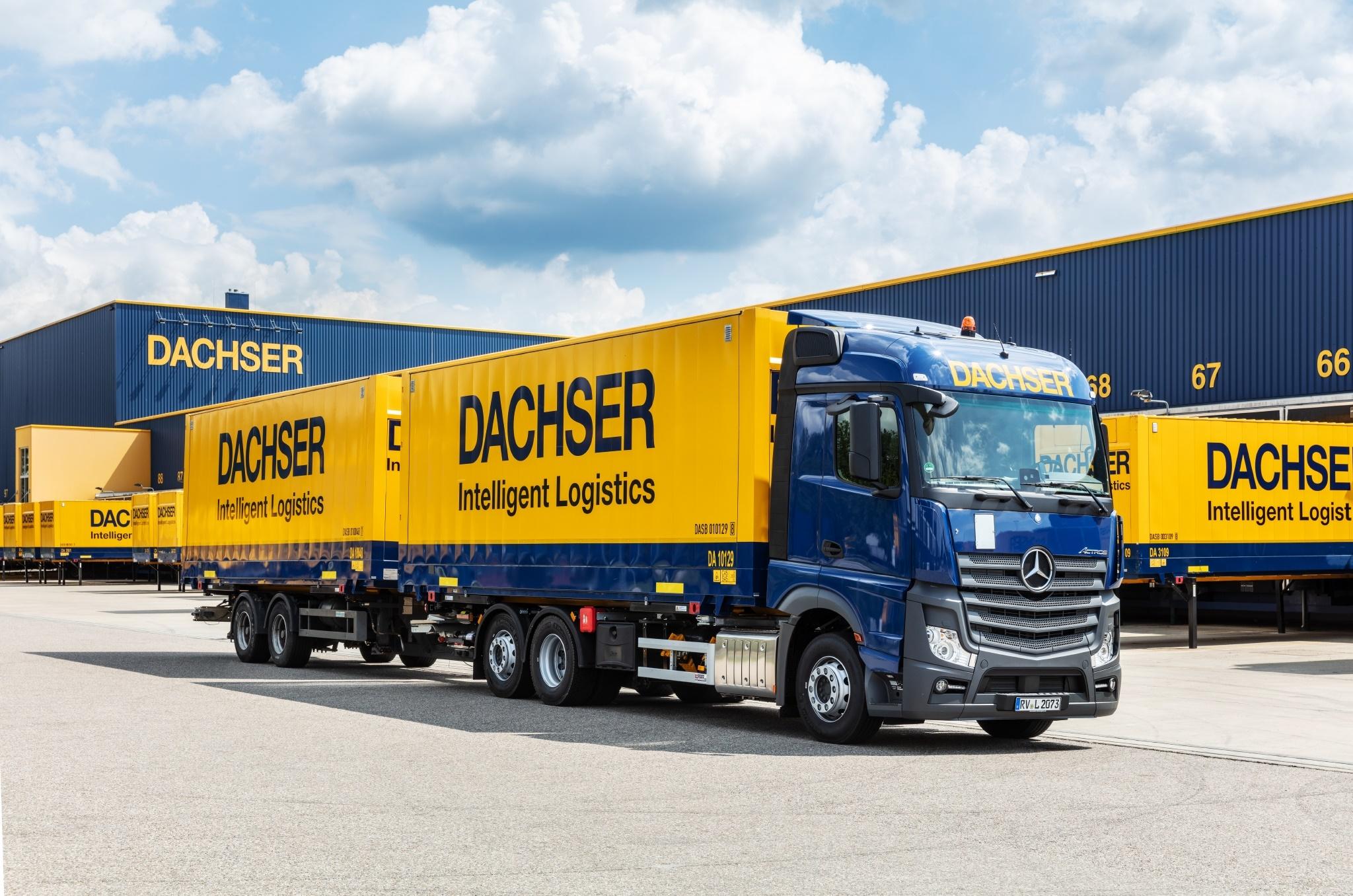Nový dopravce DACHSER
